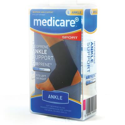 MEDICARE SPORT NEOPRENE ANKLE SLEEVE MEDIUM