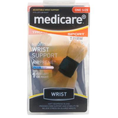 MEDICARE SPORT/PHX NEOPRENE WRIST SUPPORT ONE SIZE FITS ALL