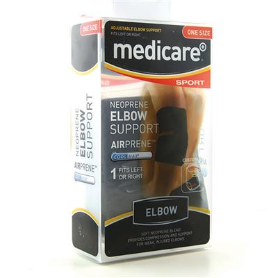 MEDICARE SPORT/PHX NEOPRENE ELBOW SUPPORTONE SIZE FITS ALL