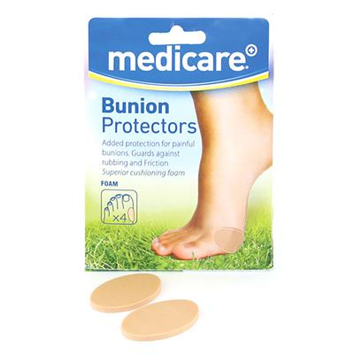 MEDICARE BUNION PROTECTORS 4'S (DISPLAY OF 10)
