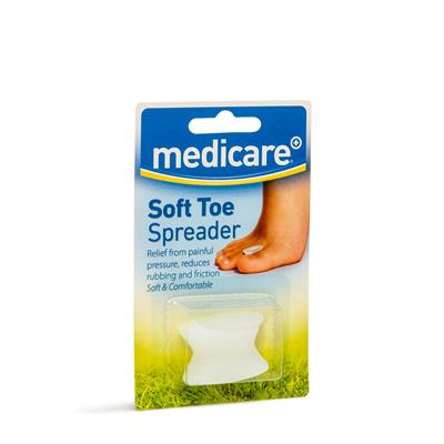 MEDICARE GEL TOE SPREADER