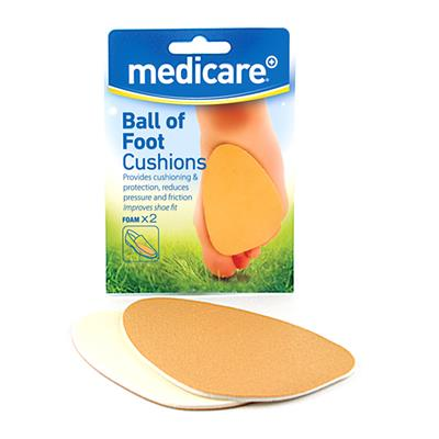 MEDICARE BALL OF FOOT CUSHIONS 2'S (DISPLAY OF 10)