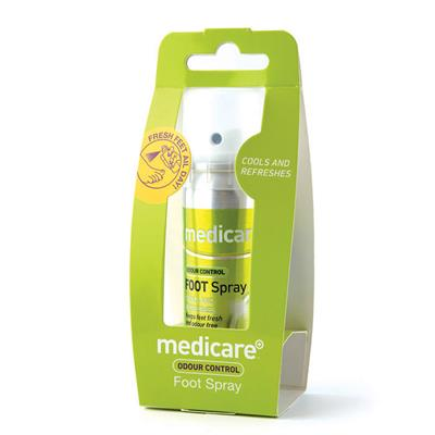 MEDICARE FOOT ODOUR SPRAY 70ML