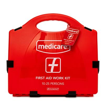 MEDICARE FIRST AID WORKPLACE HSA 10-25 PERSON KIT