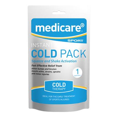 MEDICARE FOIL INSTANT ICE PACK (DISPLAY OF 10)