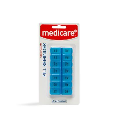 MEDICARE 7 DAY AM/PM CONTOURED PILL BOX