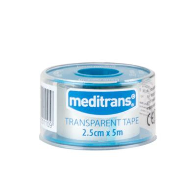 MEDITRANS TRANSPARENT TAPE 2.5CM X 5M