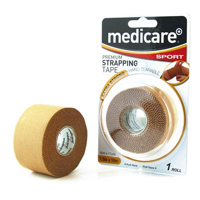 "MEDICARE SPORT PREMIUM STRAPPING TAPE 1.5"" X 11YDS"