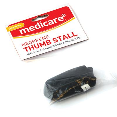 MEDICARE NEOPRENE THUMB STALL MEDIUM