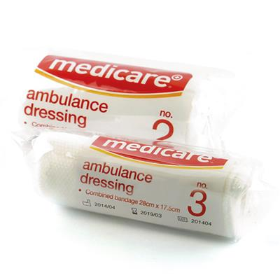 MEDICARE AMBULANCE DRESSING NO.3