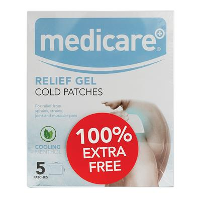 MEDICARE COLD GEL PACTHES - 100% FREE