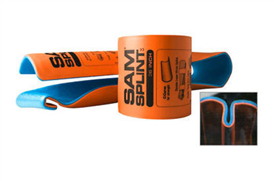 MEBER SAM SPLINT 92CM ORANGE/BLUE