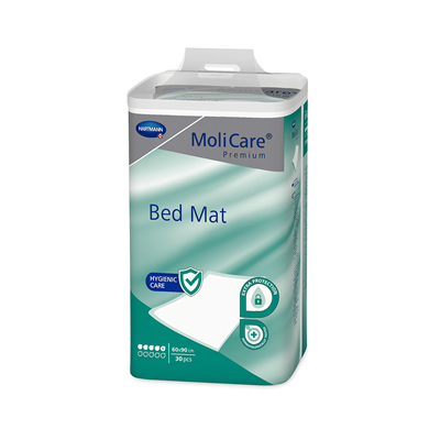 MOLICARE PREMIUM BED MAT LEVEL 5 60X90CM 100'S(4X25)