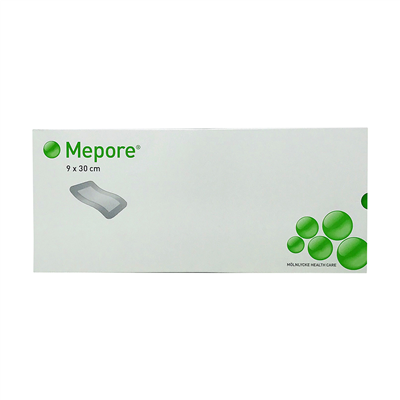 MEPORE ADHESIVE SURGICAL DRESSING 9X30 CM (BOX OF 30)