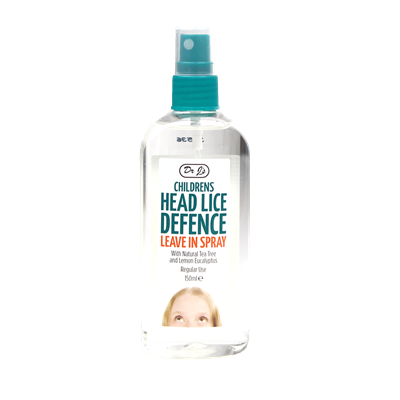 DR JOHNSON CHILDRENS HEAD LICE REPELLENT LEAVE IN SPRAY 150ML