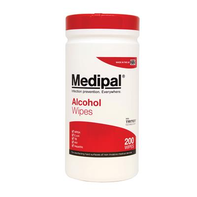 MEDIPAL ALCOHOL WIPES (200's)