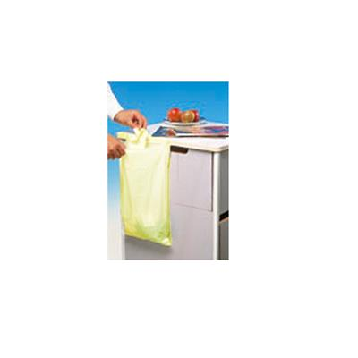 PREMIER POLYTHENE DISP LOCKER BAG YELLOW (200'S)