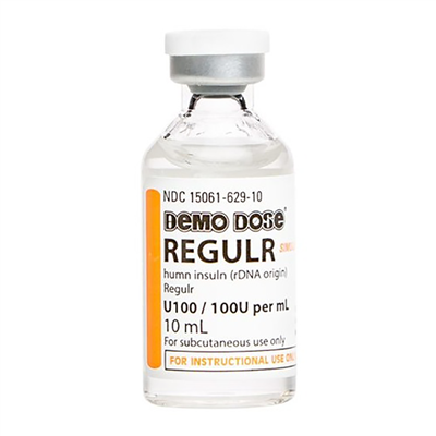 DEMO DOSE INSULIN - REGULAR INSULIN