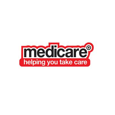 FLOOR STICKER - MEDICARE HELPING YOU TAKE CARE 400MM X 200MM