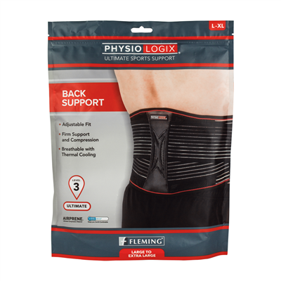 PHYSIOLOGIX ULTIMATE BACK SUPPORT - SMALL / MEDIUM