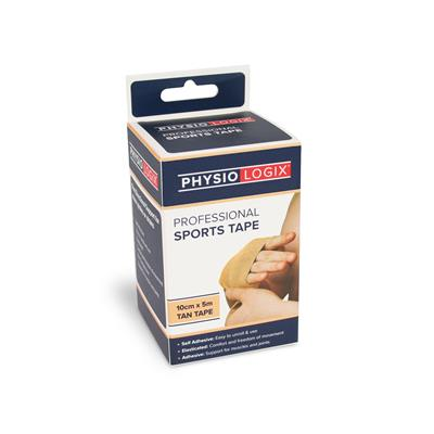 PHYSIOLOGIX SPORTS TAPE 10CM X 5M - TAN