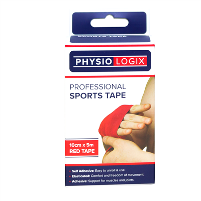 PHYSIOLOGIX SPORTS TAPE 5CM X 5M - RED