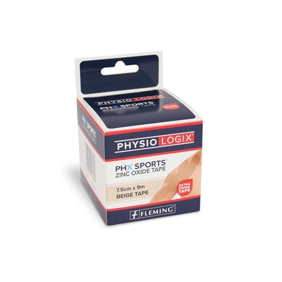 PHYSIOLOGIX PHX STRAPPING TAPE 7.5CM X 9M - TAN