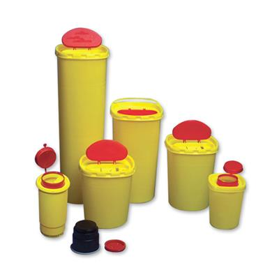 SHARPS 5L MULTI-SAFE TWIN ROUND DISPOSAL CONTAINER