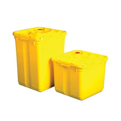SHARPS STERI BOX FOR STERILISATION OF MEDICAL WASTE 60L