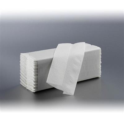 SATINO Z-INTERFOLD HAND TOWELS 2 PLY SUPERWHITE (3750's)