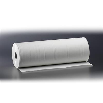 SATINO COUCH ROLLS 2 PLY SUPERWHITE 150M X 59CM (4)