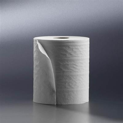 SATINO WIPING ROLLS 2 PLY SUPERWHITE 150M X 23CM (6)