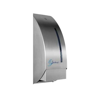 SATINO STAINLESS STEEL SOAP CARTRIDGE DISPENSER