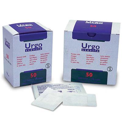URGO STERILE ADHESIVE DRESSING 100 X 70MM 50'S