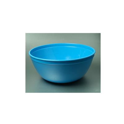 WARWICK LOTION BOWL 2 LITRE - BLUE PLASTIC